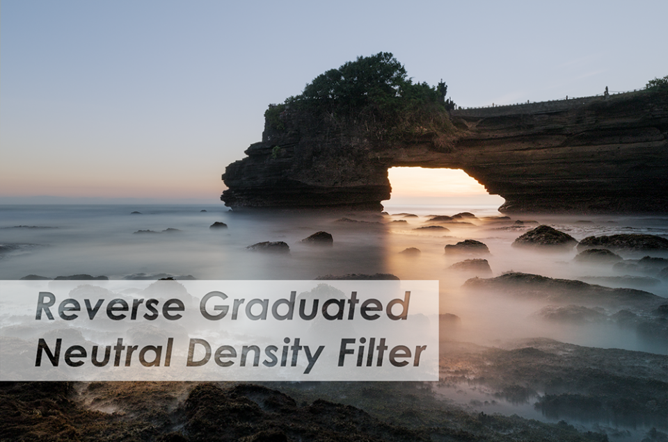 Reverse Graduated Neutral Density Filter